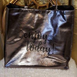 Silver Tote bag